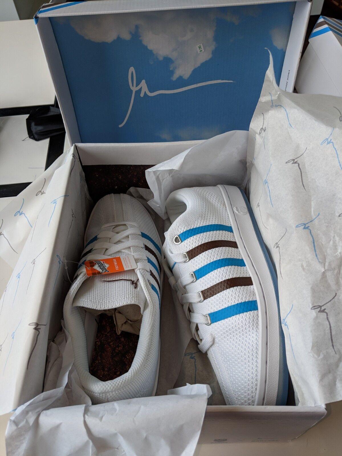Gary Vee (Vaynerchuk) 003  Nuvole e Dirt K -Swiss scarpe da ginnastica donna Dimensione 8.5  perfezionare