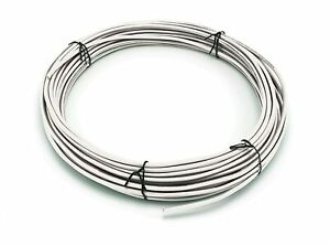 THHN // Building Wire 10 Ft White Jacket 10 Gauge Solid Copper UL UV