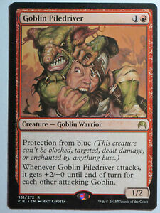 Goblin-Piledriver-Mtg-Magic-English