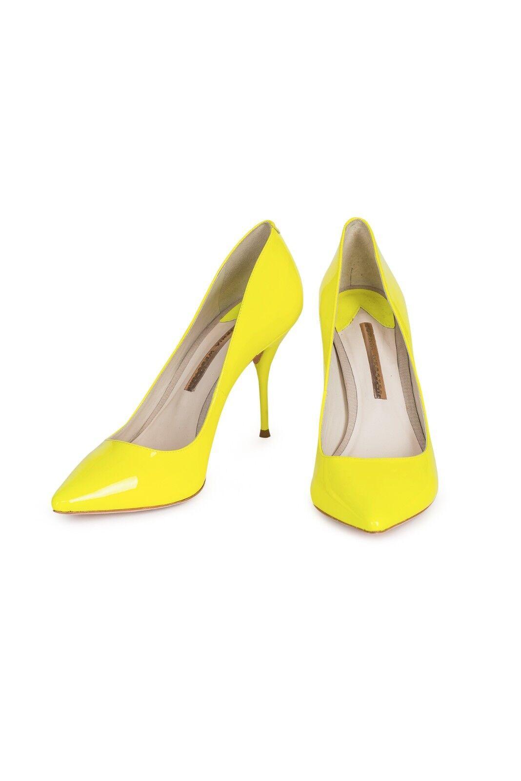 Sophia Webster Lola Neon jaune Pumps, New