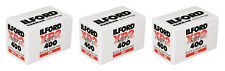3 Rolls Ilford XP2 400 135-36 35mm B&W Film Black & White XP 11/2017