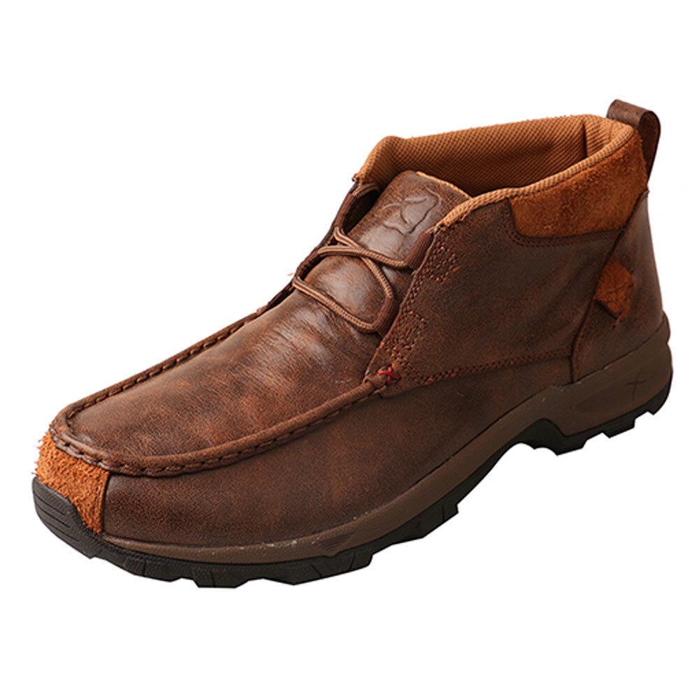 Mhkw 002 Twisted X Men's excursionista Impermeable Zapato – Marrón Nuevo
