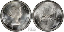 Canada - 1964 - 25 Cents - .800 Silver & .15 oz. ASW - MS UNC Lustrous Prooflike