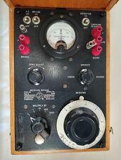 General Radio Co Megohm Bridge Type 544 B Us Navy Tagged