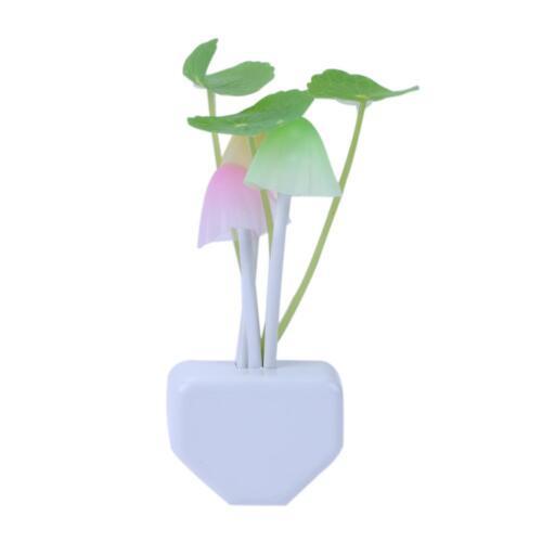 Sensor Night Light LED Wall Lamp Romantic Colorful Home Bedroom Decor EU//US Plug