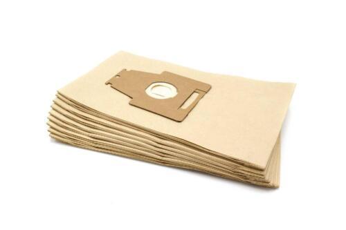 10x Sacchetto per Aspirapolvere Carta per Bosch ErgoMaxx HEPA Plus