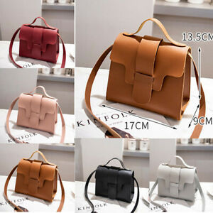Women-Faux-Leather-Small-Handbag-Messenger-Cross-Body-Shoulder-Bag-PurseCH