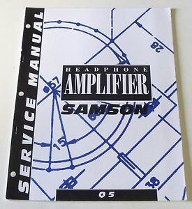 samson q5 headphone amplifier service manual ebay rh ebay com