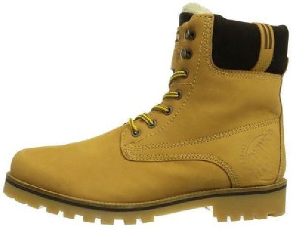 s.Oliver, Herren Winter Stiefel, Boots, Leder, NEU, gelb, Gr. 42
