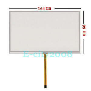 Details About 7 0 4wire Resistive Touch Screen Panel Digitizer Film 164 99mm Diy Lcd Monitor