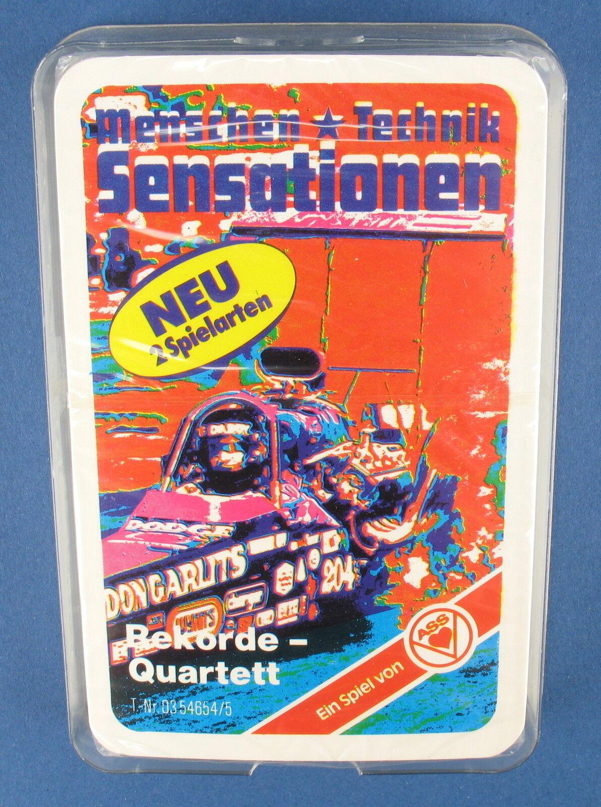 Des records-Quatuor-Dragster-AAS - Nº 03 54654 5-de 1980-Neuf dans film