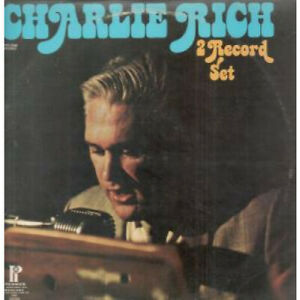 CHARLIE-RICH-2-Record-Set-LP-VINYL-Canada-Pickwick-18-Track-Double-Album-Wear