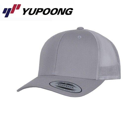 Yupoong Retro Trucker Cap UNI//Taglia Unica ARGENTO