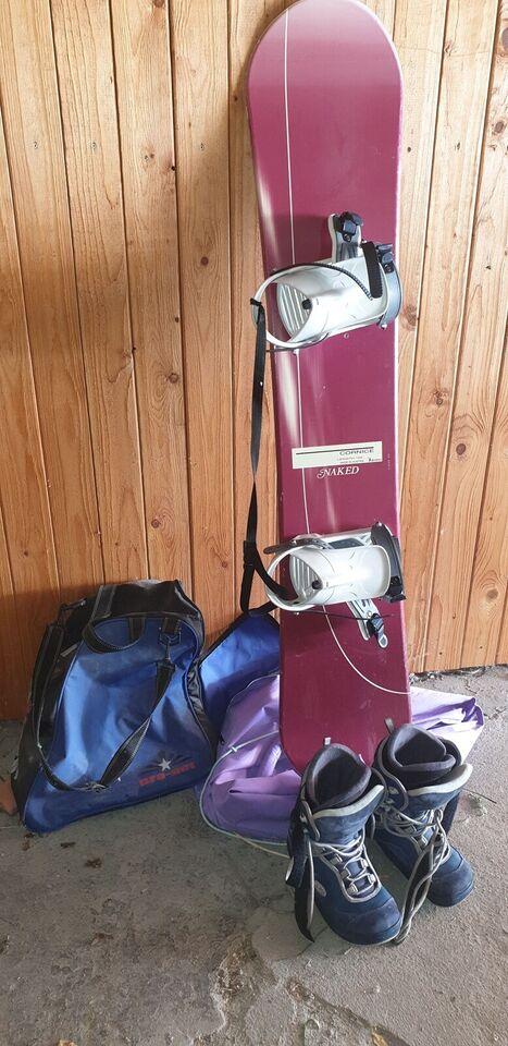Snowboard, Naked, str. 37-38 - dba.dk - Køb og Salg af Nyt