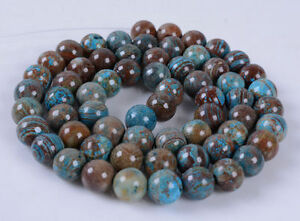 6mm251-6mm-Blue-veins-stone-round-loose-beads-16