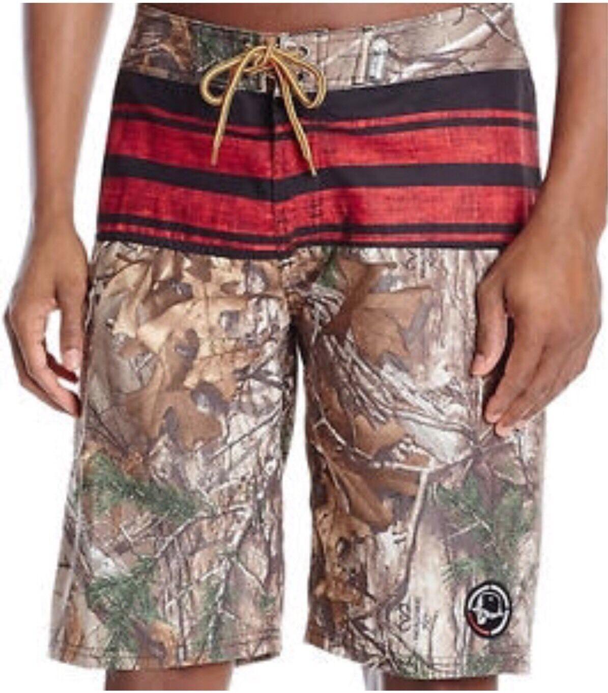 Metal Mulisha Realtree Double Barrelled Men's Boardshorts Size 32