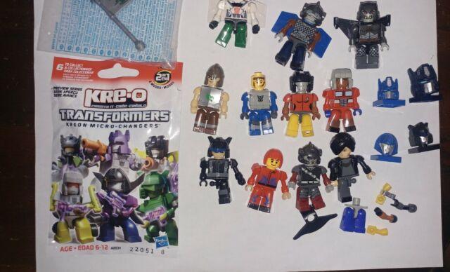 Kreo Kre-o Transformers & other mini figures