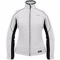 Womens Ansai Mobile Warming Cypress Battery Heated Electric Jacket Silver