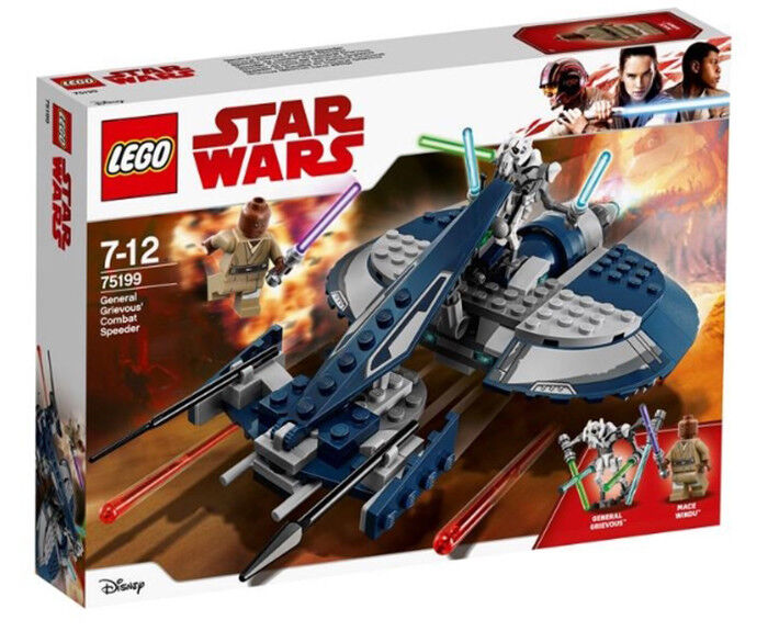 LEGO STAR WARS 75199 General Grievous Combat Speeder (New sealed)