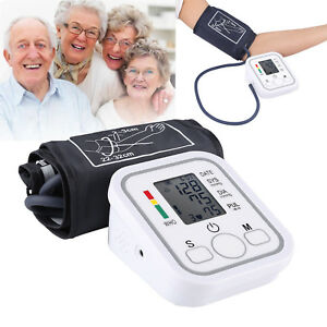 Upper-Arm-Digital-LCD-Blood-Pressure-Pulse-Monitor-Health-Care-Sphygmomanometer
