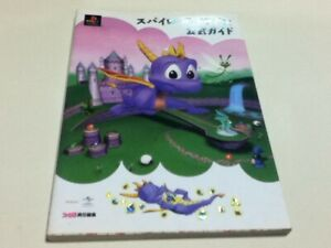 Spyro-the-Dragon-official-strategy-guide-book-Playstation-PS1-KA