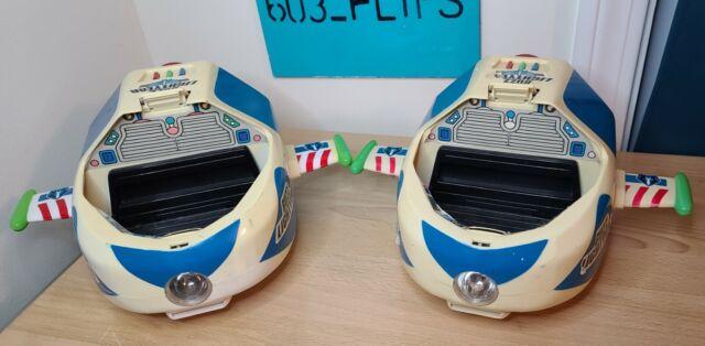 Vintage 90s Toy Story Buzz Lightyear Space Explorer Light Sound Spaceship Disney
