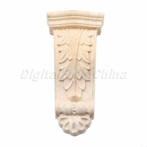 Exquisite Colonne sculpture sur bois Decal appliqué Cabinet Armoire décoration de table