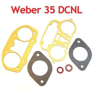 Weber-35-DCNL-service-gasket-kit-repair-set-for-Lancia-Flaminia-Maserati