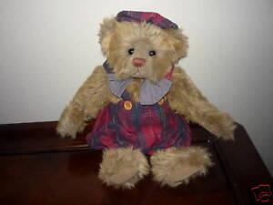 Ganz-Cottage-Collectibles-Teddy-Bear-Dempster-MWOT-Stuffed-Lorraine-Chien