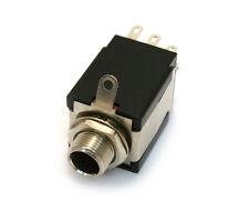 "005-6055-000 1/4"" Guitar Output Jack w/ Battery Switching Pin/Mounting Hardware"