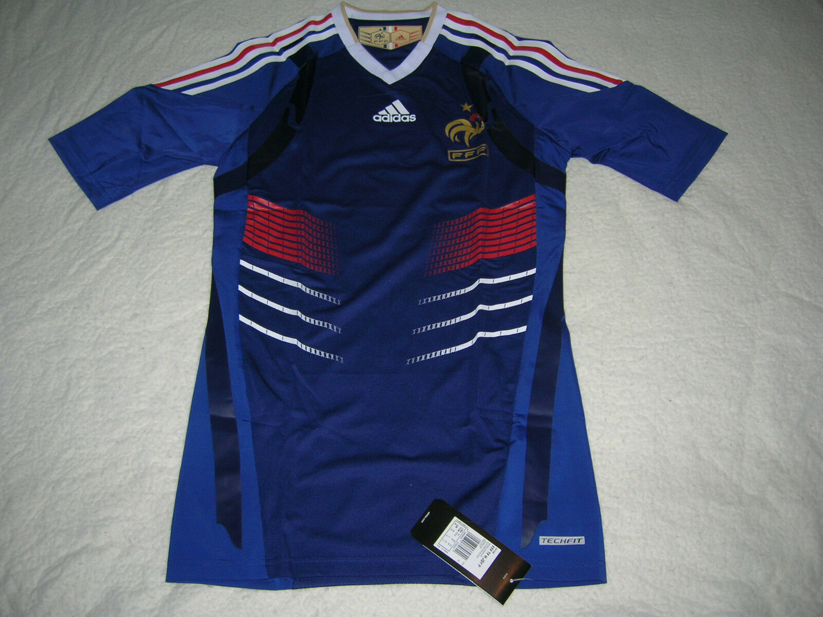 France Soccer Jersey Football TECHFIT Shirt Trikot Maglia Maillot WORLD CHAMPION