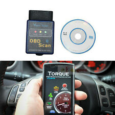 Bluetooth Android TORQUE ELM327 Car OBD2 diagnostic scanner for BMW VW Chevrolet