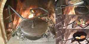 fireplace cooking jigrest crane ebay rh ebay com antique fireplace cooking crane lodge fireplace cooking crane