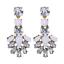 1Pair-Elegant-White-Feather-Shape-Crystal-Resin-Ear-Stud-Eardrop-Dangle-Earring thumbnail 1