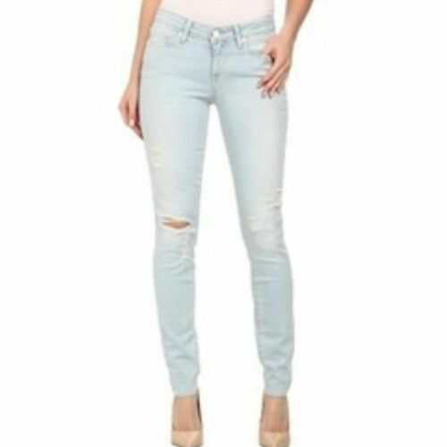 Paige Verdugo Ultra Skinny Powell Destructed Jeans