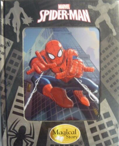 Marvel Magical Story Book With /'3D/' Metallic Cover Batman, Spiderman, Avengers