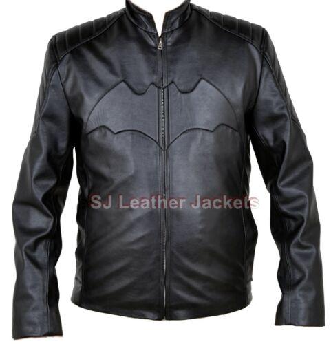 Xs para de alta los Batman calidad de negro Chaqueta todos cuero 5xl tamaños hombres Yqn7wZWpU1
