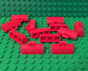 Lego X12 New Red Toolbox / City Mechanics Mini Figure Utensils Bulk Parts Lot