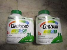 New 2 x 425 Tablets Centrum Adults Multivitamin 365 +60 bonus travel size bottle