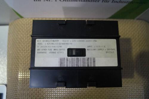 Eurotherm regulador 425//081//13//36//060//001//00