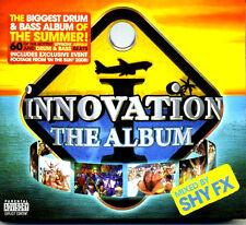 INNOVATION THE ALBUM - 3 X CDS MIXED BY SHY FX - DRUM & BASS RAVE CDJ DJ HAZARD