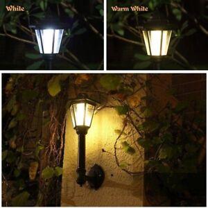 Solar-Garden-Light-Hexagonal-Lantern-Wall-Lamp-Waterproof-Outdoor-Decor-Art-Home