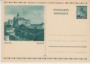 Occupation-Ii-Wk-Bohmen-et-Moravie-P-6-Bildpostkarte-Pernstein