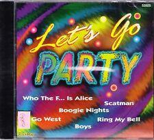 LET´s GO PARTY + CD + Fetenhits + 16 Hits für die Fete + NEU + KULT + OVP +