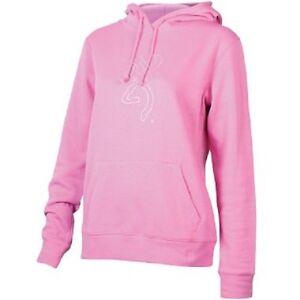 Logo Sweat Pull Rose Browning Buckmark Strass Capuche Femmes Bling 80xdxw7