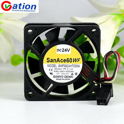 SanAce 60WF 9WF0624H7D05A  For FANUC fan A90L-0001-0552#A DC24V 0.11A