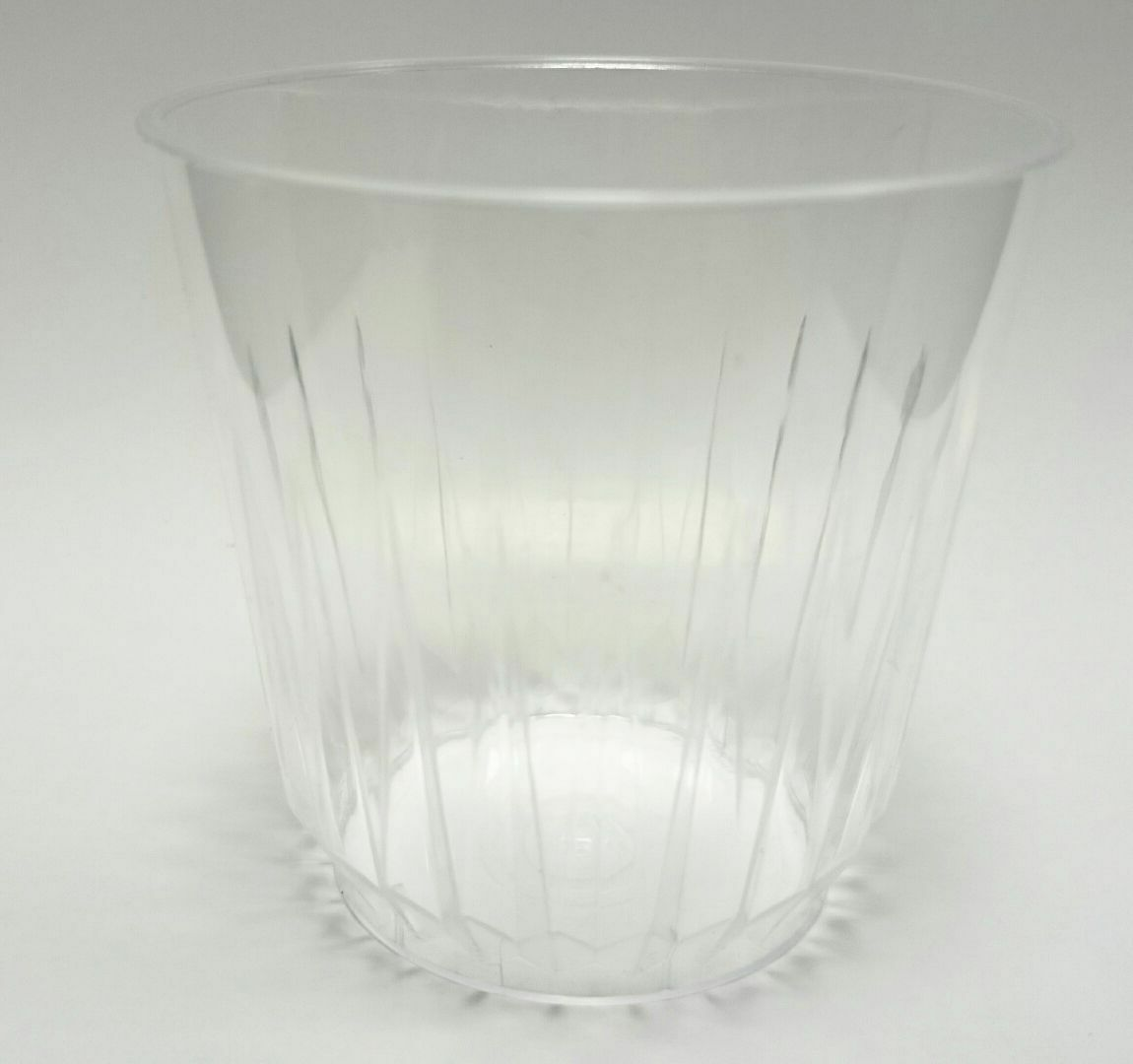 700 9oz plastique transparent solide crystal mélangeur verres jetables jus vin whisky