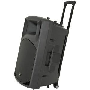 QTX-QX15PA-Plus-Portable-USB-Bluetooth-DJ-Band-Karaoke-15-034-Active-PA-Speaker