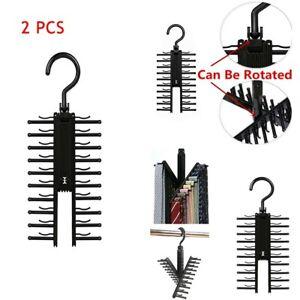 Adjustable-Cross-X-Hangers-Tie-Belt-Rack-Organizer-Hanger-Non-Slip-Holder