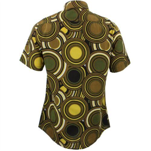 Fit Mens Loud Originals Sur Mesure Shirt Fantaisie Psychᄄᆭdᄄᆭlique Cercles Vert Rᄄᆭtro BCsQdhrtxo